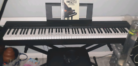 Yamaha P45 Digital 88 Key Piano w/accessories