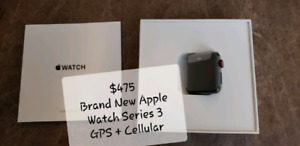 Brand New Apple Watch Series 3 38mm GPS + Cellular