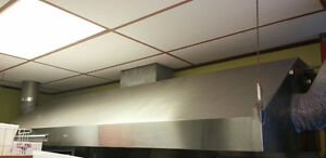 S/S Exhaust Hood with Fire Suppression System