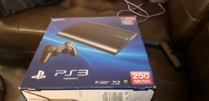 Almost brand new PS3 game console.