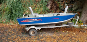 Ungaua Boat, motor and trailer for sale