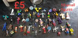 50 small figures £5 for them all smoke and pet free home branston can