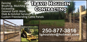 Equipment for hire-fencing, brushing, mulching