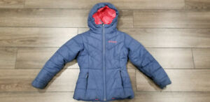Manteau Hiver Fille Columbia (7/8 ans S) - Girl Winter Jacket