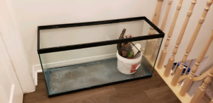25 galon fish/turtle tank with water filter and some accessories