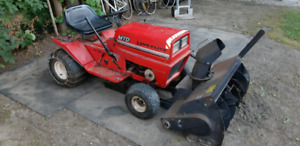 TRACTOR/ SNOWTHROWER