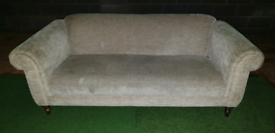 3 SEATER FABRIC SOFA IN NATURAL