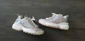 Fila trainers size 4