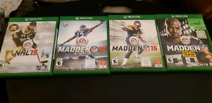 Xbox One Sports Game lot