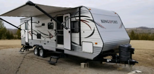 2015 Kingsport 278DDS Travel Trailer -Low Use