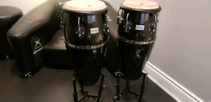 Congas  as new unplayed flawless condition - REDUCED, MUST SELL