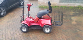 Single seat im-4 golf buggy