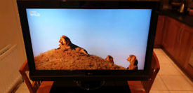 Lg 37inch lcd freeview tv