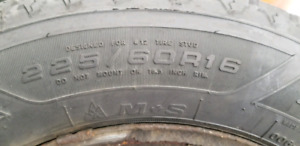 Winter tires 225/60/16