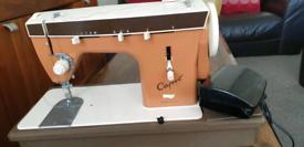 Sewing machine capri.