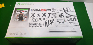 Brand new xbox one s 1tb nba 2k19 bundle