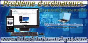 Technicien Informatique sur place et à domicile