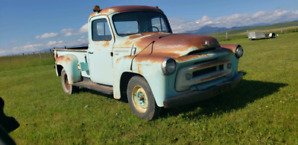 1956 IHC S-110 truck , Original Paint , Excellent Patina