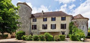 Very lovely château in FRANCE, dating from 12th Century!