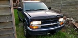 2002 Chevrolet Blazer $550.00