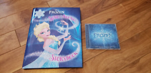 Frozen Hardcover Sing along Book and CD