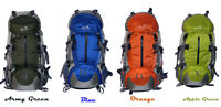 New  50L School Luggage Backpack Camping Travel Hiking Pack