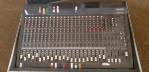 Mackie mixer and Behringer eqs