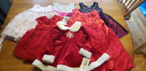 Fancy dresses/holiday dresses various sizes