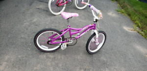 "18"" Girls bike - Purple"
