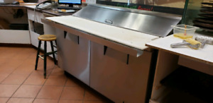 Sandwich/Pizza topping table