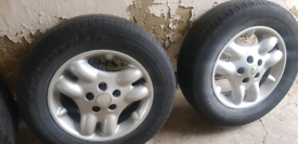 landrover freelander alloy wheels & tyres