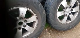 Mitsubishi alloys and tyres