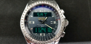 Breitling B1 - with 2.50 cts Diamond Bezel