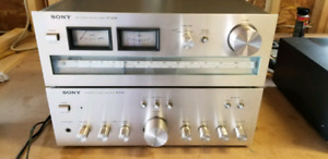 Vintage Sony amp and tuner