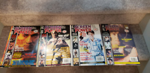 Jackie Chan Official European Magazines