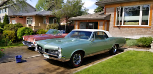 1967 Pontiac GTO Convertible w/ Air Conditioning