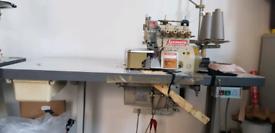Overlock sewing machine yamato