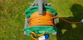 Caravan camping hook-up cable 25m