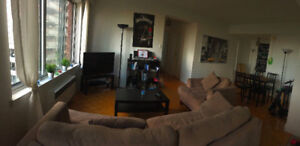 Appartment 4 1/2, 2 bedroom Downtown Montreal
