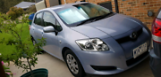 Toyota Corolla Accent 2008 Hatchback Auto Drouin Baw Baw Area Preview