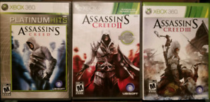 XBox 360 - Assassin's Creed 1-2-3