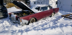 1971 Lincoln continental mark 3 all original car with a 460