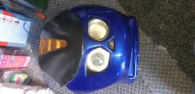 Mini halogen cockpit fairing.