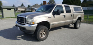 2004 Ford F350 Crew Cab Lariat 4x4 Super Duty