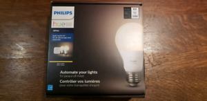 Philips Hue Bulb Starter Kit, 2 bulbs and home bridge