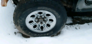 Cooper Tires on GMC Rims