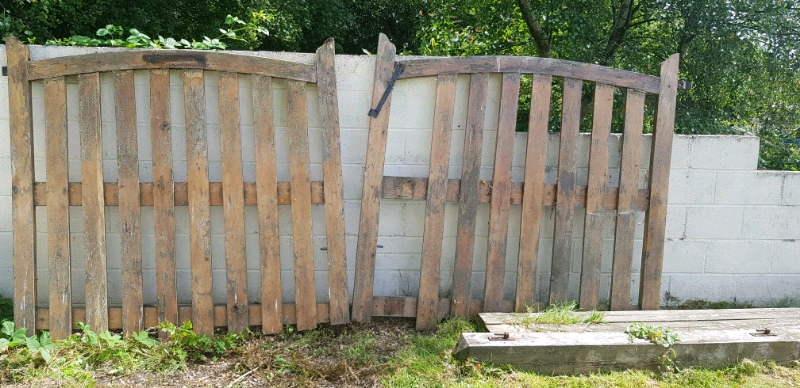 Hard Wood Gates In Clydach Swansea Gumtree