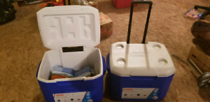 Coleman Coolers w. Ice Packs