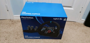 Logitech G29 steering wheel set PLUS Shifter