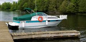 Bateau Doral Cachet 240EX 1991  17,000.00$